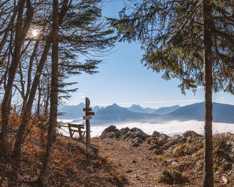 Visite du Mont-Baron